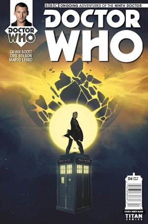 Ninth Doctor Issue 4 'The Transformed' (Part 1 of 2) Titan Comics  (Credit: http://media.titan-comics.com/dynamic-images/comics/issues/DW_9D_Ongoing_04_Cover_A_Verity_Glass_1z7XcBF.jpg.size-600.jpg)