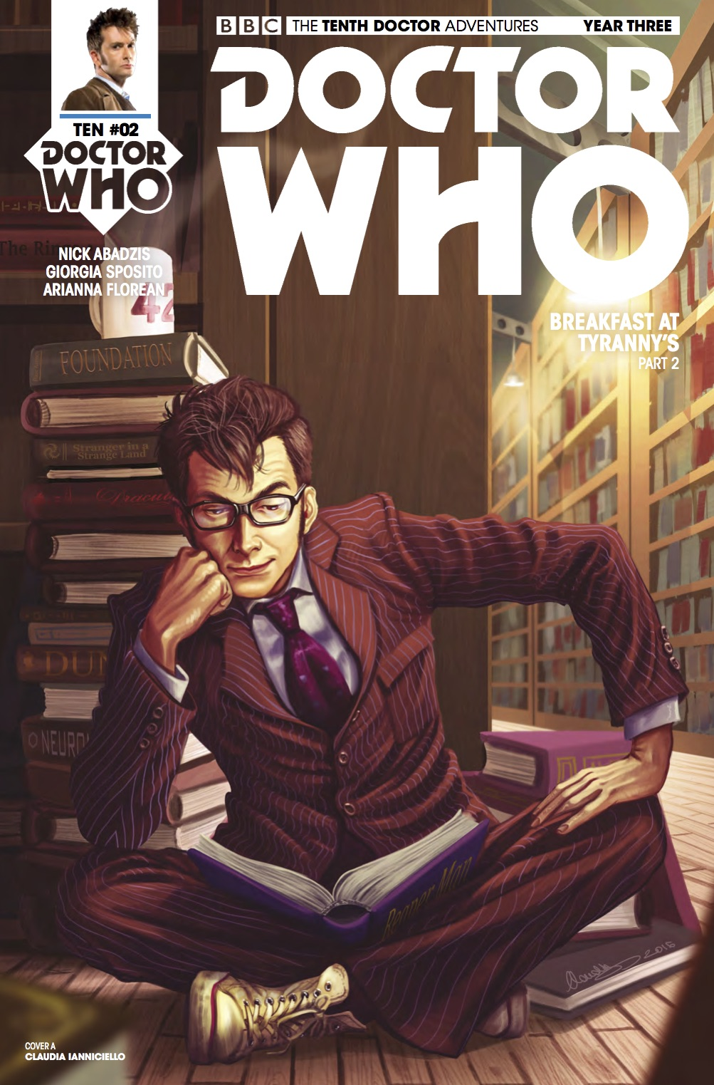 THE_TENTH_DOCTOR_3_2_Cover_A (Credit: Titan / Claudia Ianniciello)