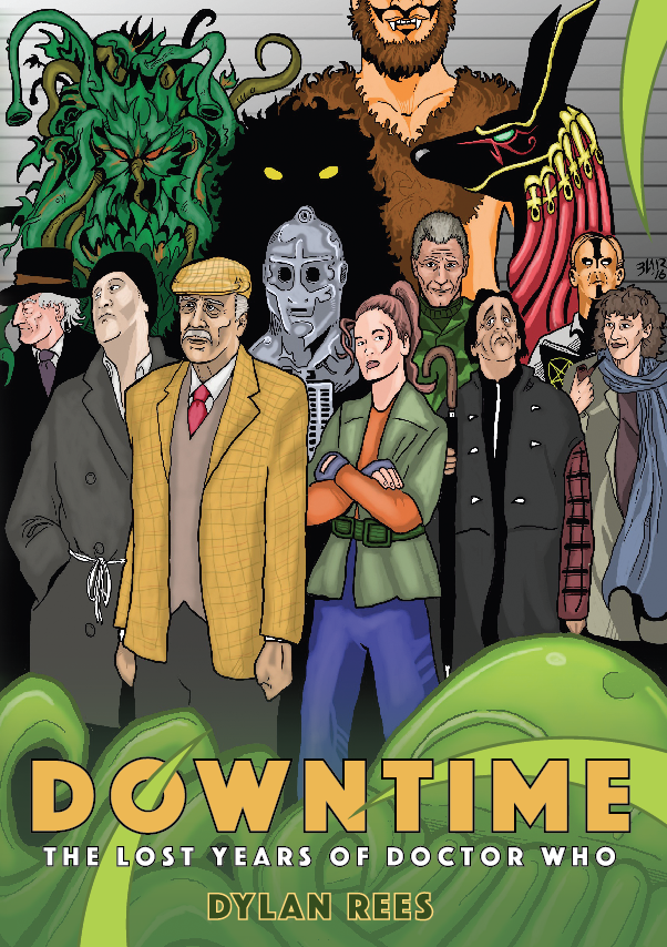 DOWNTIME - THE LOST YEARS OF DOCTOR WHO (Credit: Obverse Books)