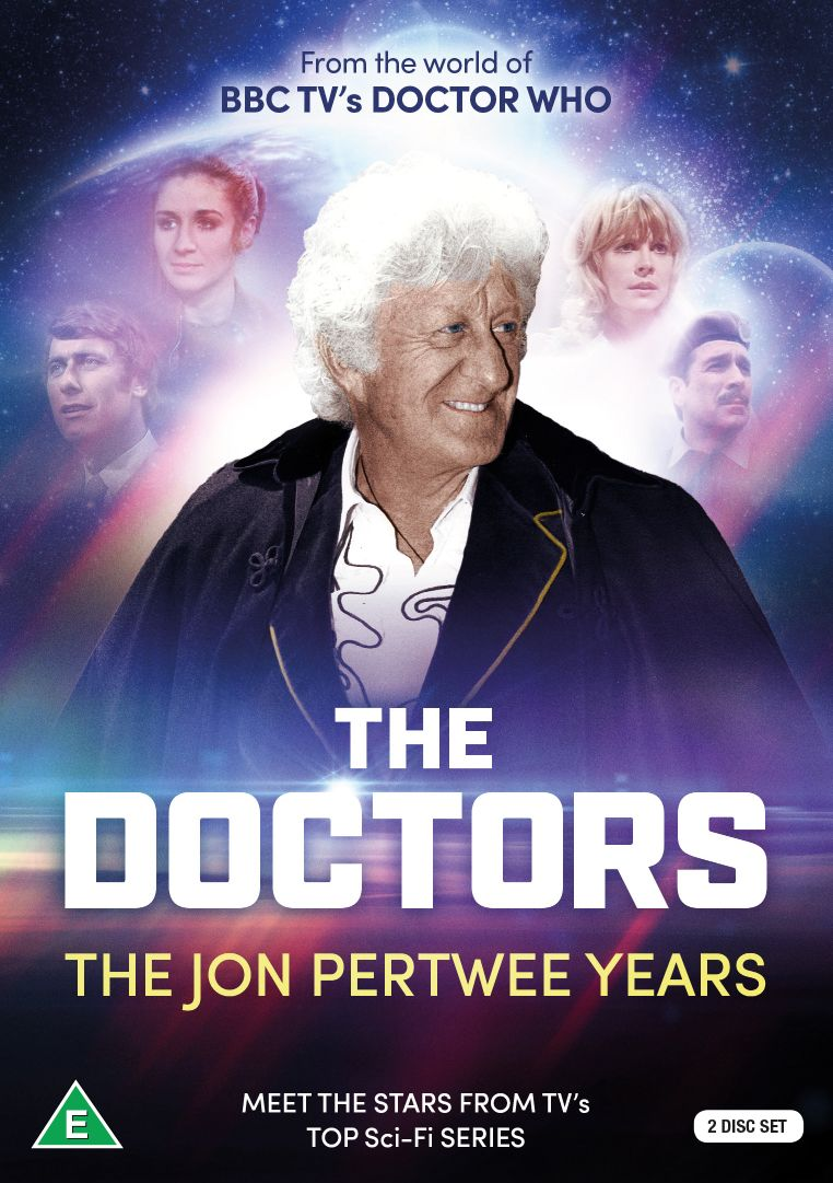 The Doctors: The Jon Pertwee Years (Credit: Koch Media)