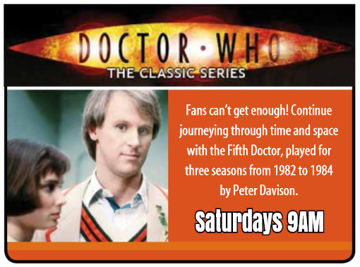 Fifth Doctor Movies on WYCC (Credit: WYCC Magazine (p9), March 2017)