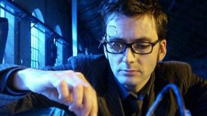 The Tenth Doctor putting his mind to work (Credit: http://www.bbc.co.uk/doctorwho/s4/images/S3_12)