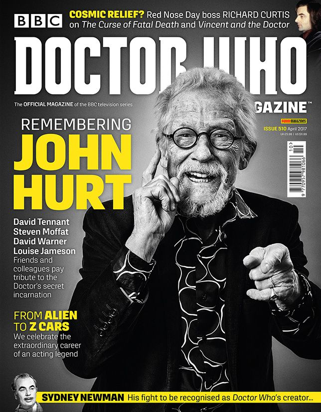 Doctor Who Magazine Issue 510 (Credit: DWM)