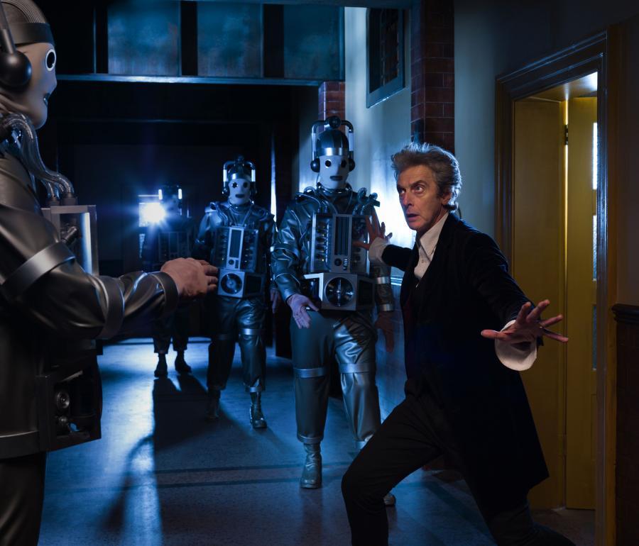 Mondasian Cybermen (Credit: BBC / Simon Ridgway)
