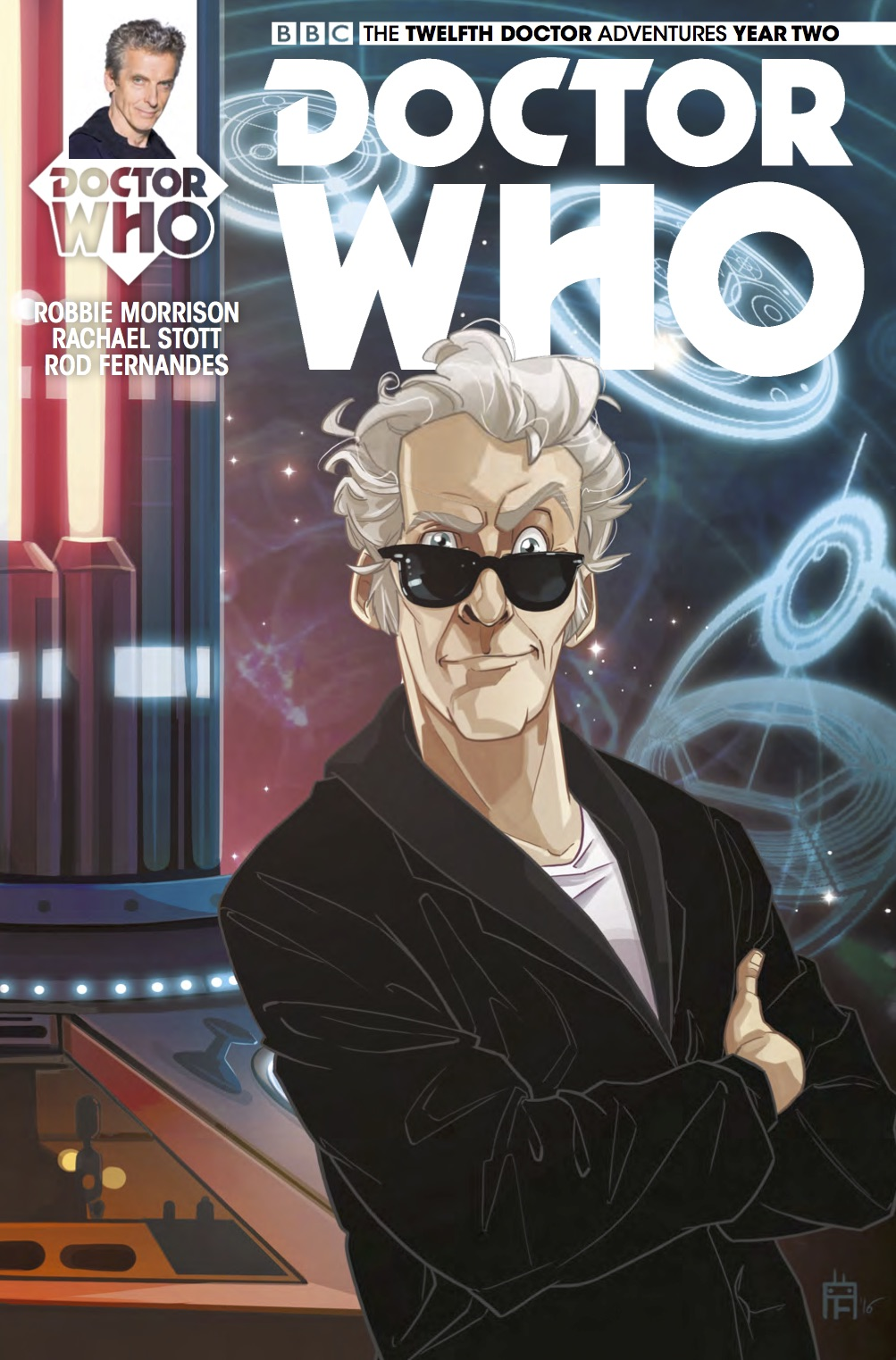 The Twelfth Doctor 2-15 Cover D (Credit: Titan)