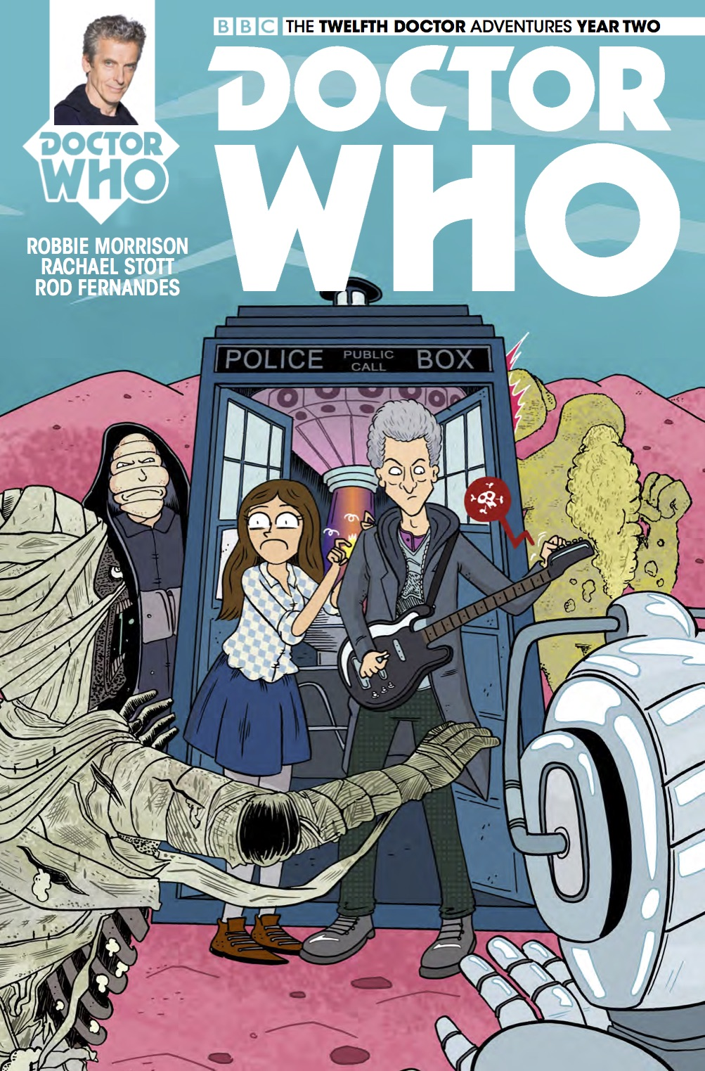 The Twelfth Doctor 2-15 Cover C (Credit: Titan)