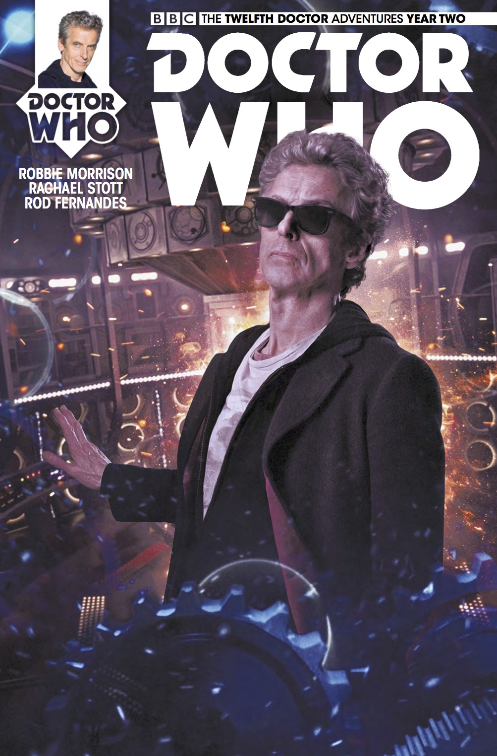The Twelfth Doctor 2-15 Cover B (Credit: Titan)