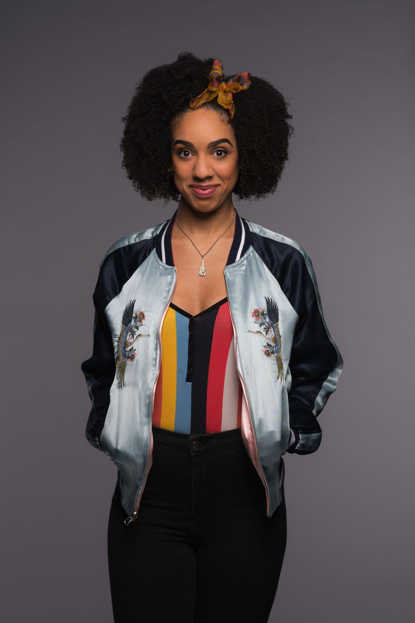Bill, as played by Pearl Mackie (Credit: BBC/Des Willie)