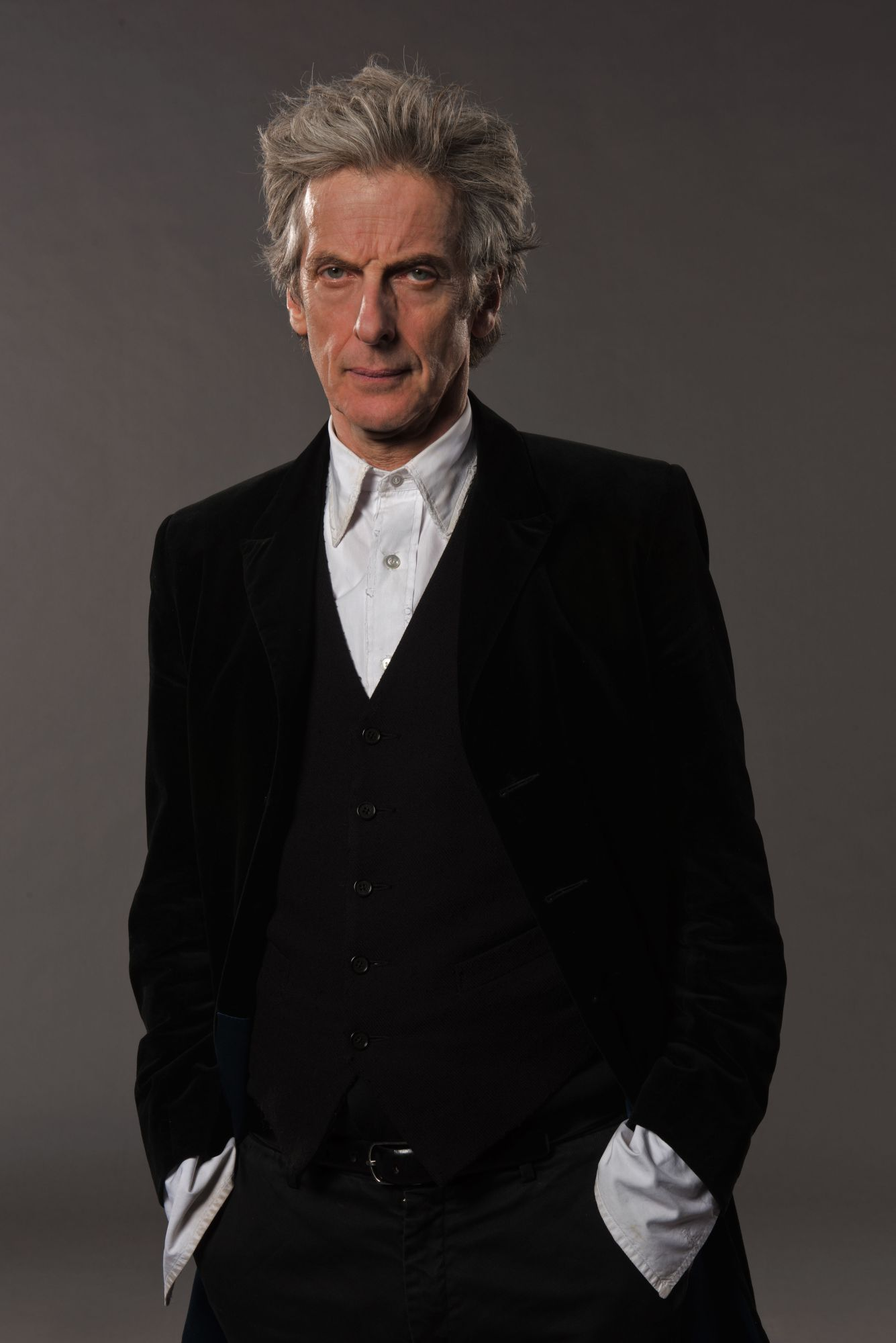 The Doctor, as played by Peter Capaldi (Credit: BBC/Des Willie)