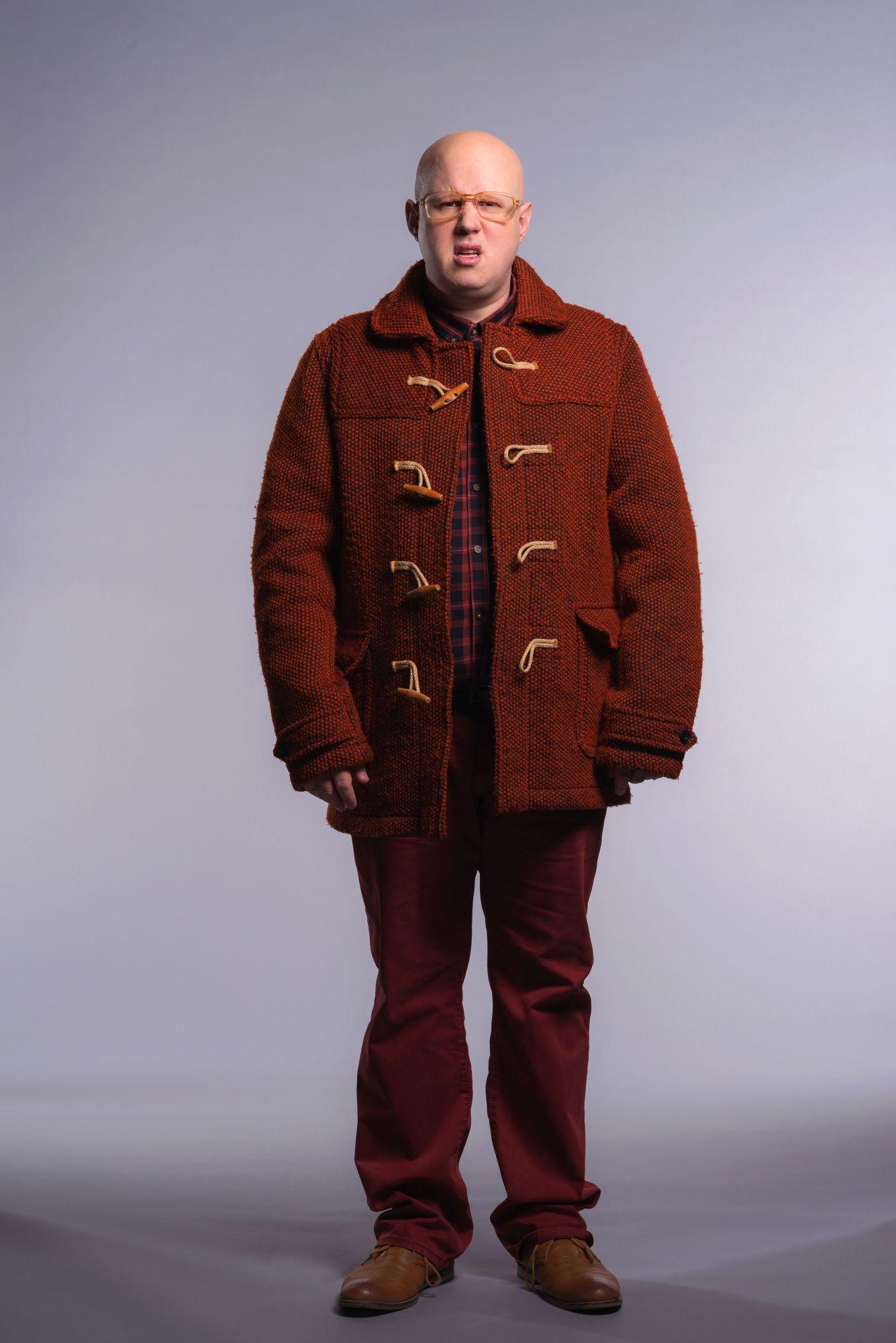 Nardole, as played by Matt Lucas (Credit: BBC/Des Willie)