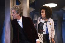 The Doctor (Peter Capaldi) and Bill (Pearl Mackie) (Credit: BBC/Simon Ridgway)