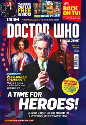 Doctor Who Magazine issue 511 (bag) (Credit: DWM)