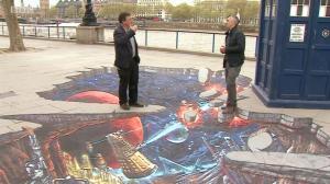 BBC London News (featuring Steven Moffat)