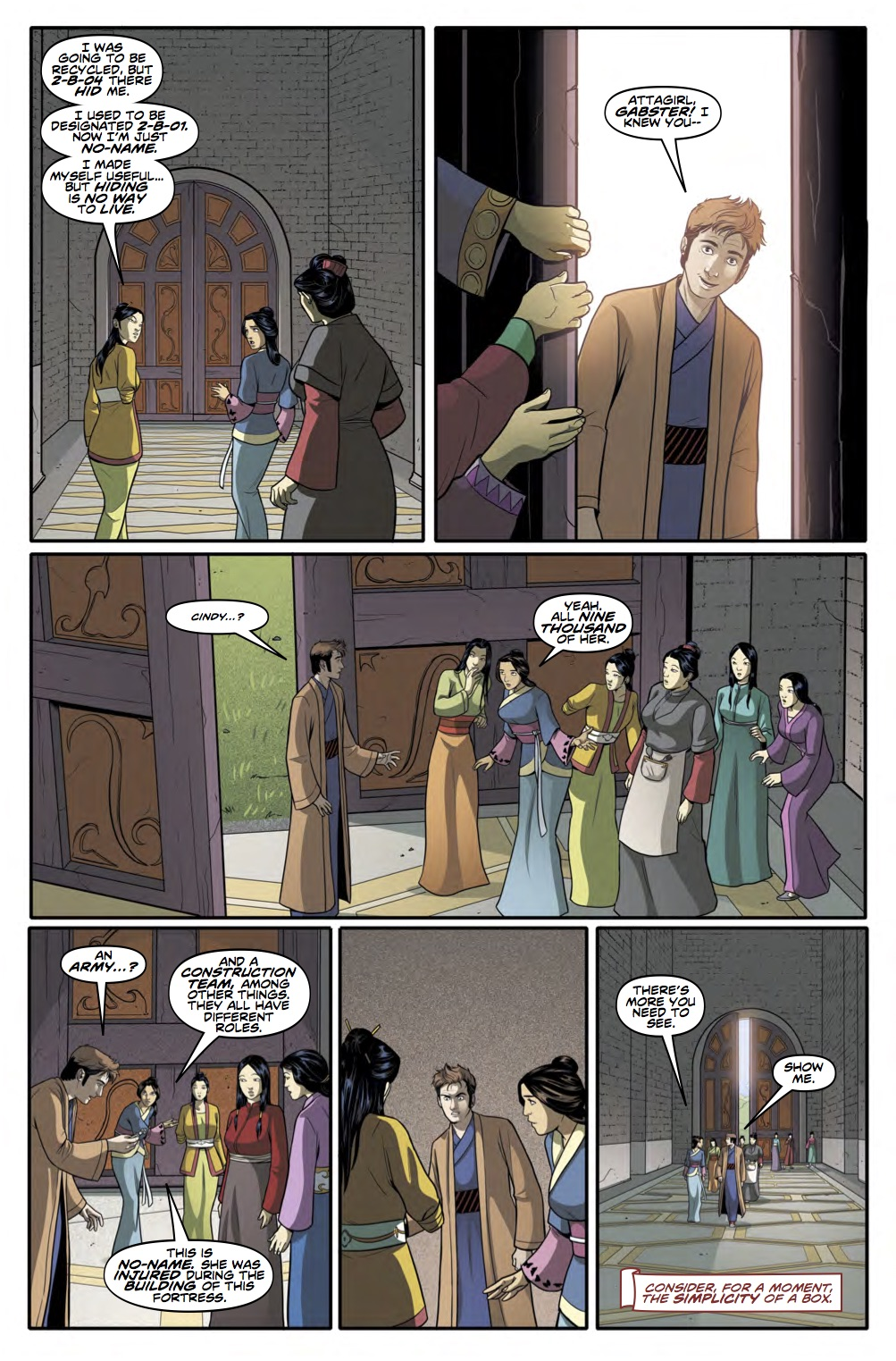 THE TENTH DOCTOR YEAR THREE #4 Page 5 (Credit: Titan)