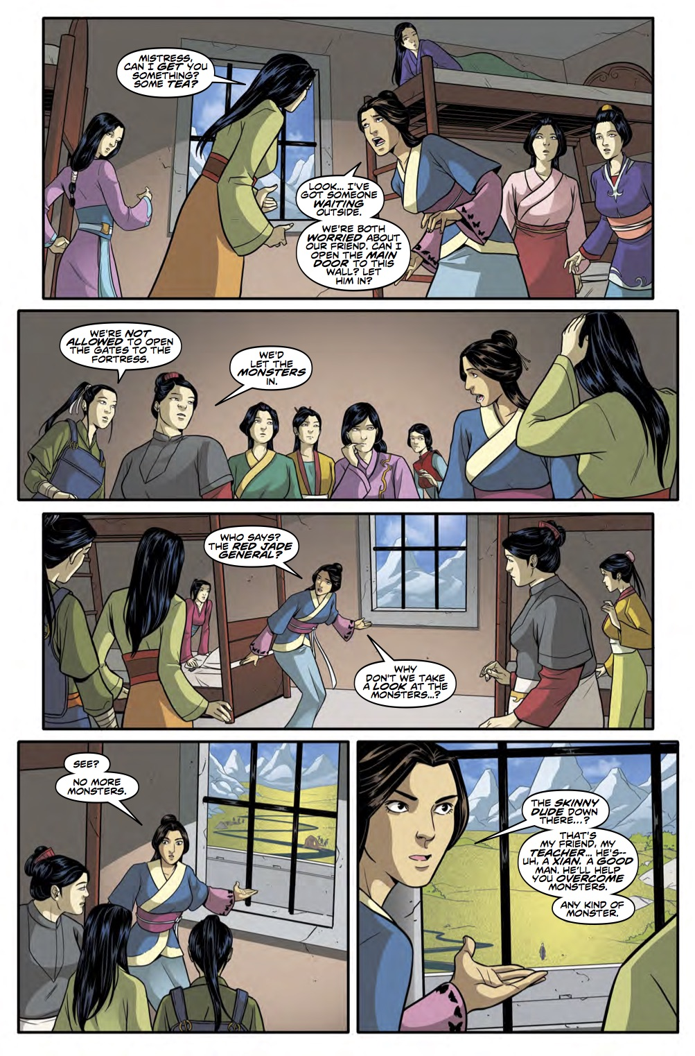 THE TENTH DOCTOR YEAR THREE #4 Page 2 (Credit: Titan)