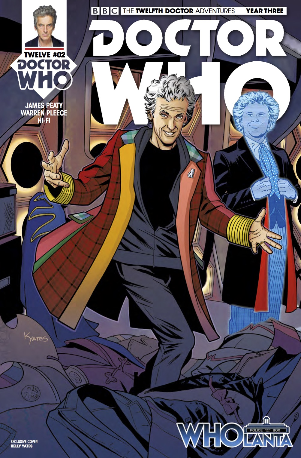 TWELFTH DOCTOR YEAR 3 Wholanta Con (Credit: Titan)