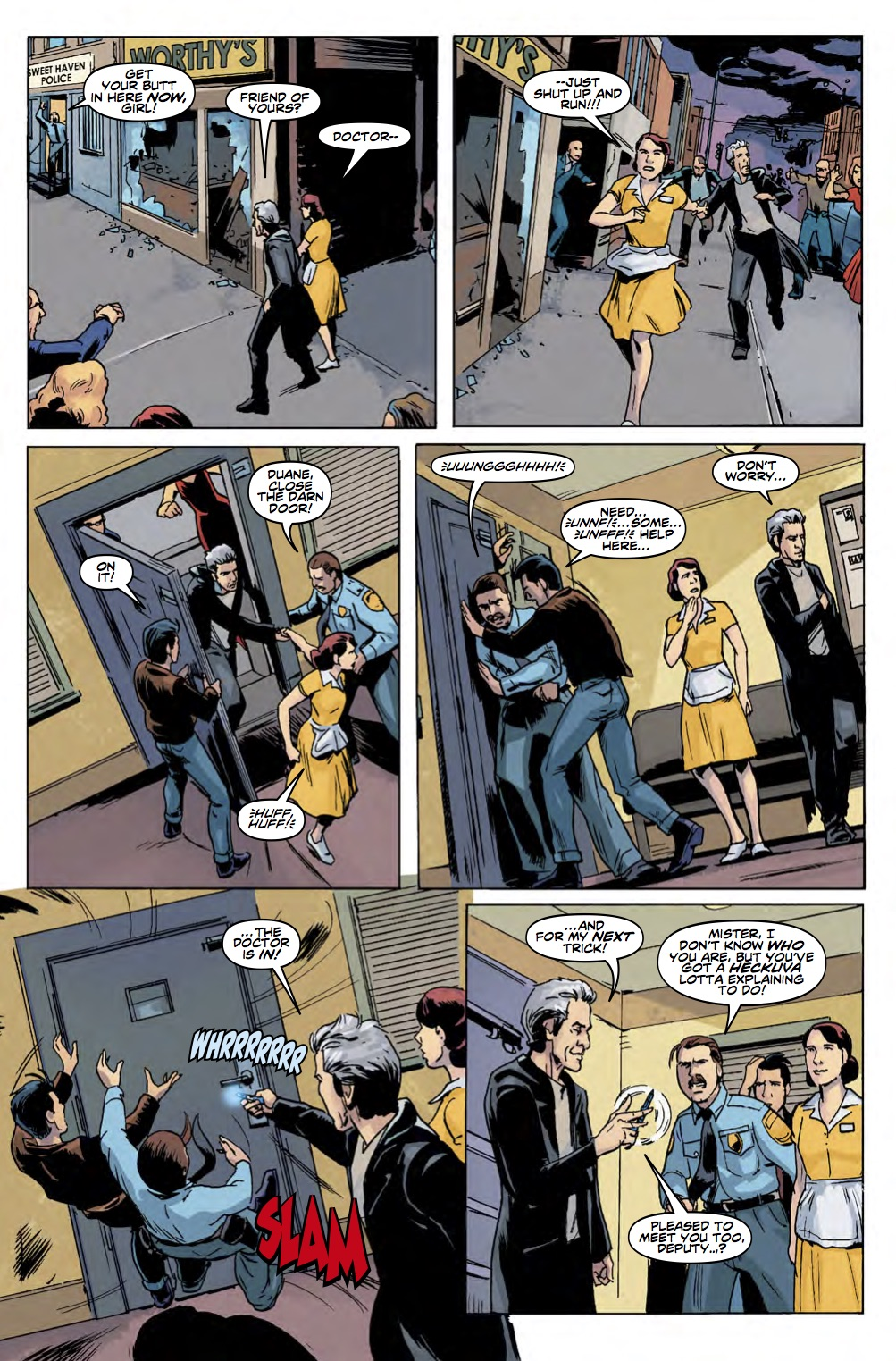 TWELFTH DOCTOR YEAR 3 #2 Page 4 (Credit: Titan)