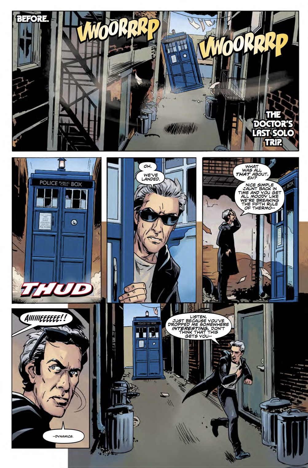 TWELFTH DOCTOR YEAR 3 #2 Page 1 (Credit: Titan)