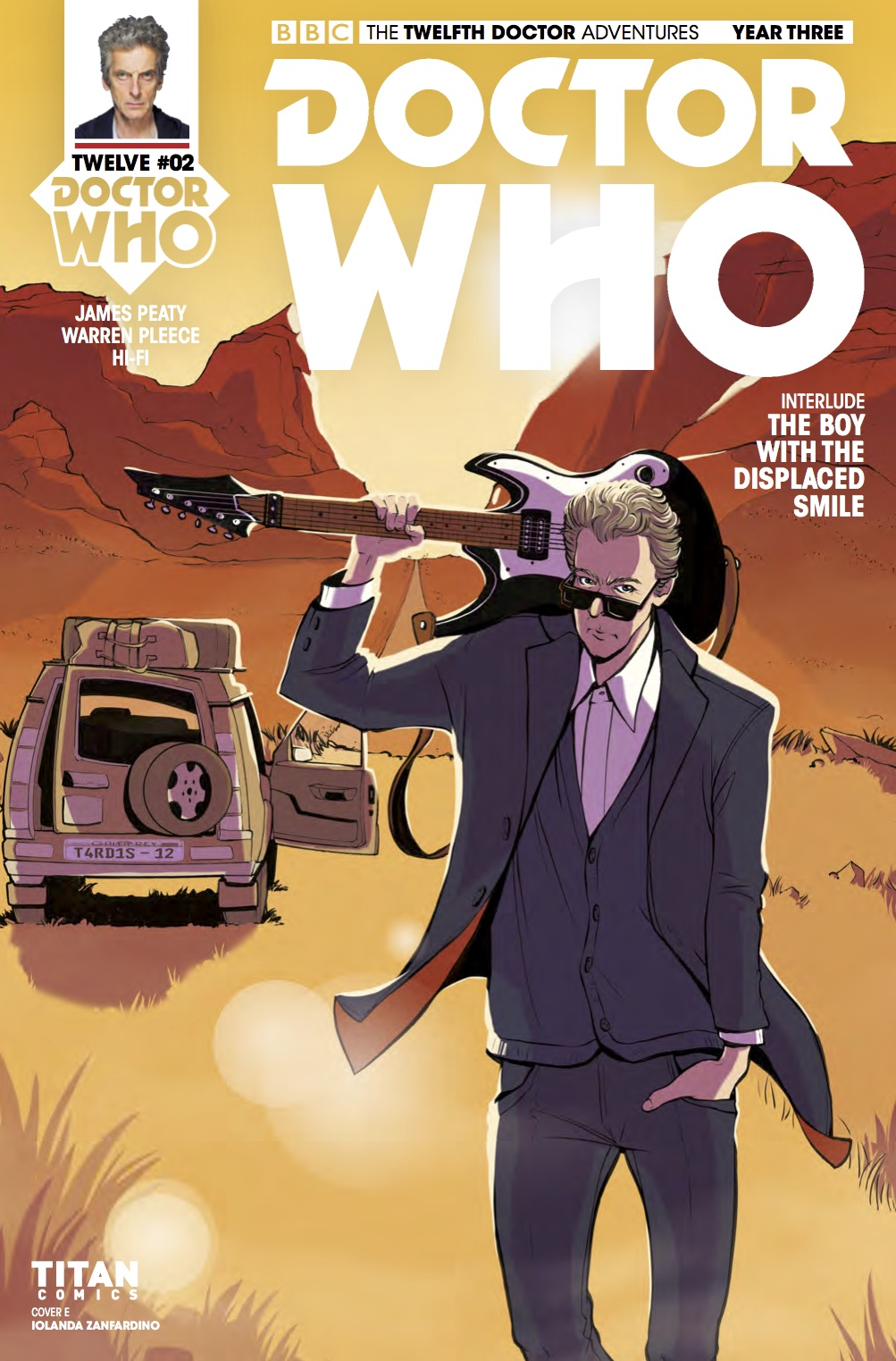 TWELFTH DOCTOR YEAR 3 #2 Cover E (Credit: Titan)