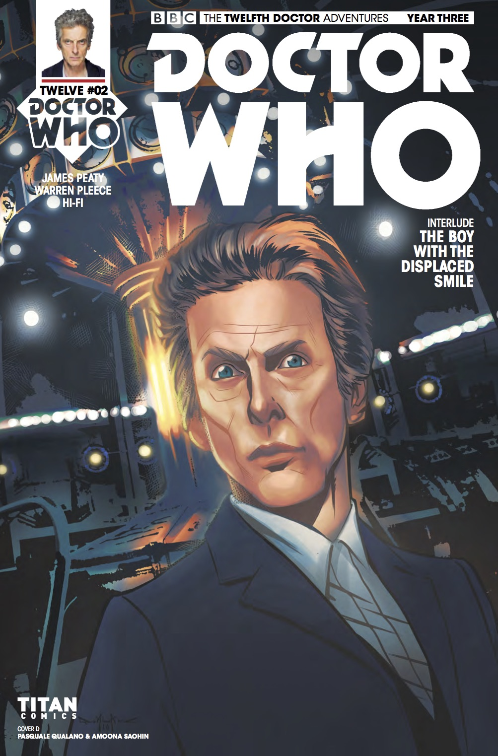 TWELFTH DOCTOR YEAR 3 #2 Cover D (Credit: Titan)