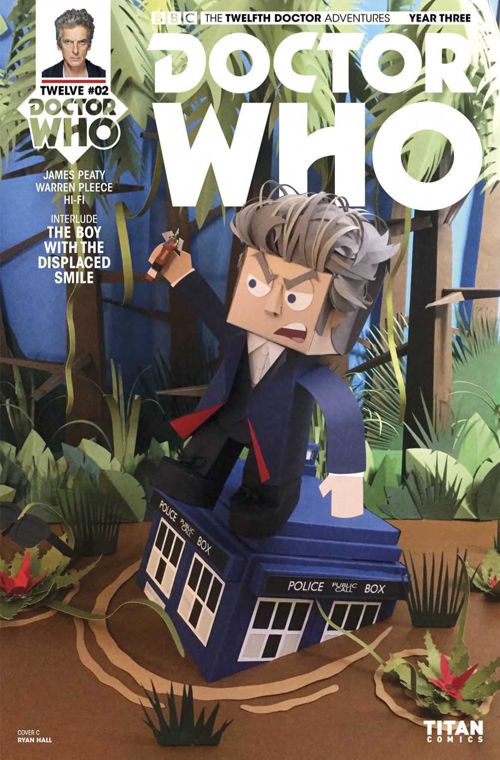 TWELFTH DOCTOR YEAR 3 #2 Cover C (Credit: Titan)