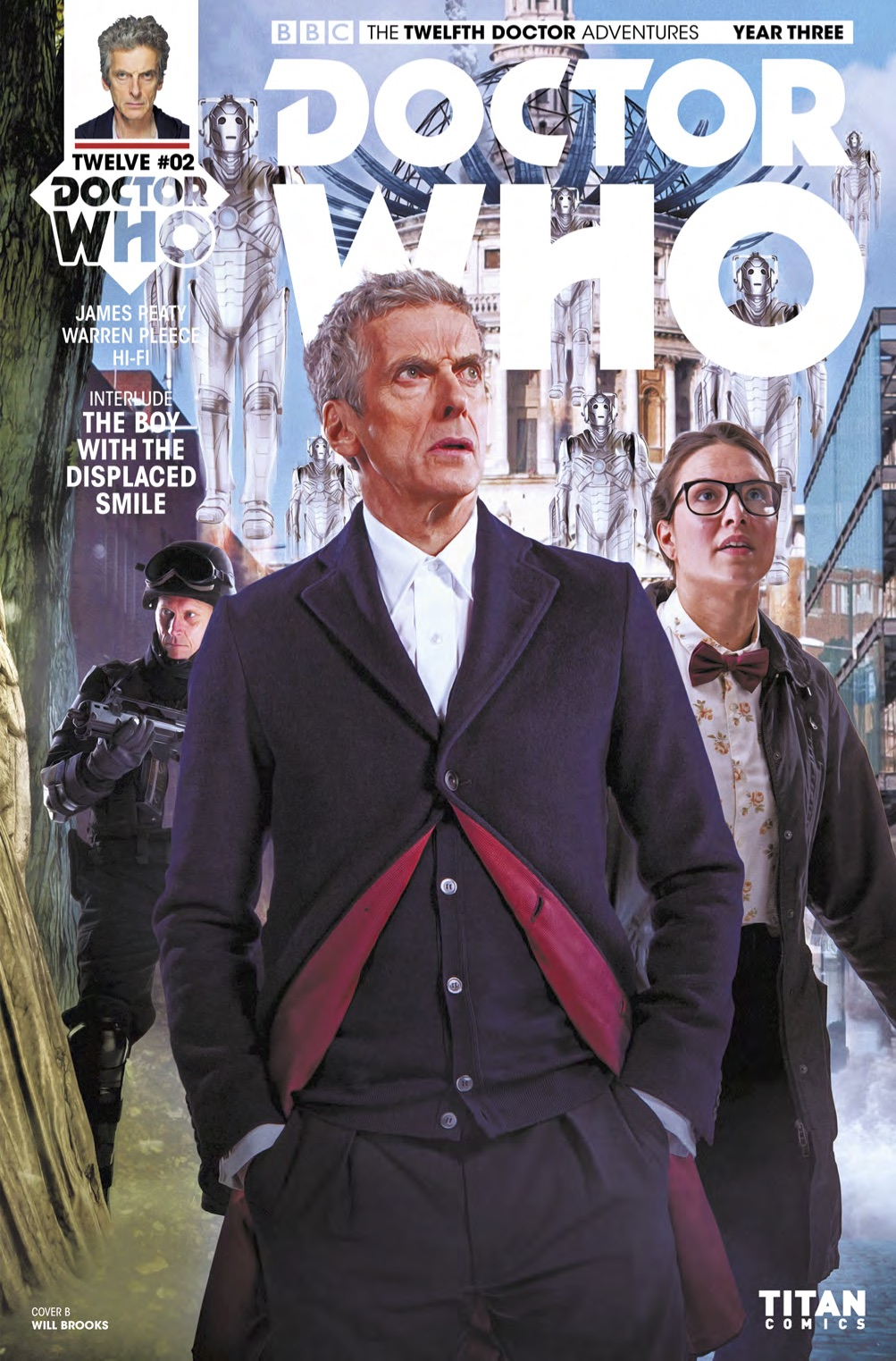 TWELFTH DOCTOR YEAR 3 #2 Cover B (Credit: Titan)