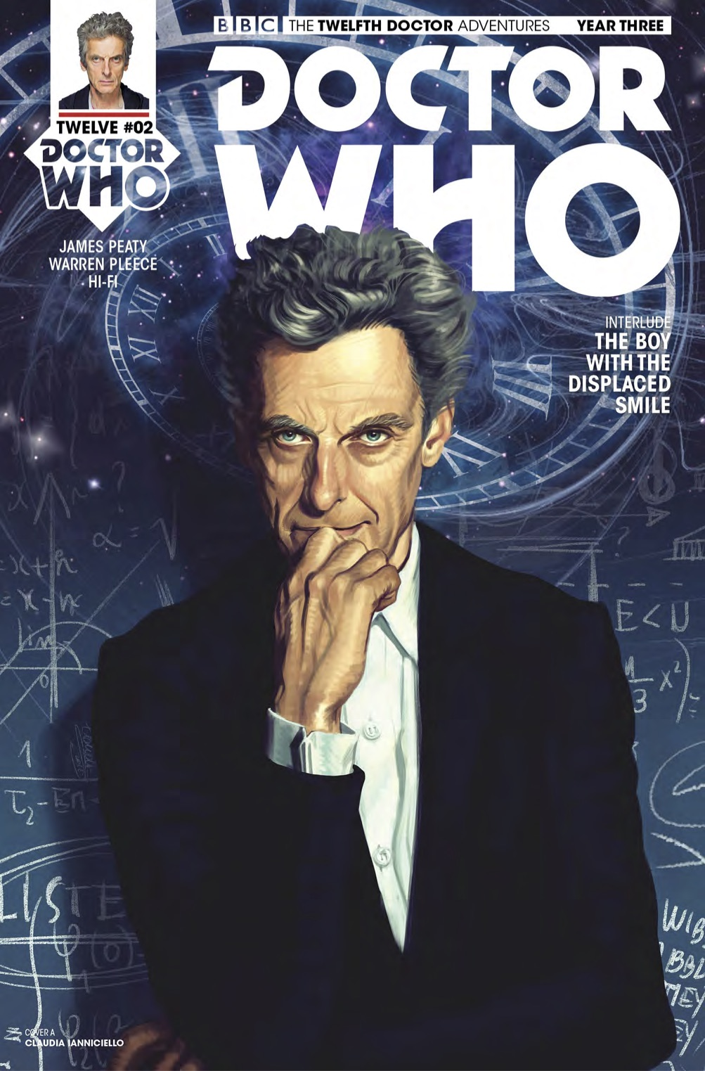 TWELFTH DOCTOR YEAR 3 #2 Cover A (Credit: Titan)