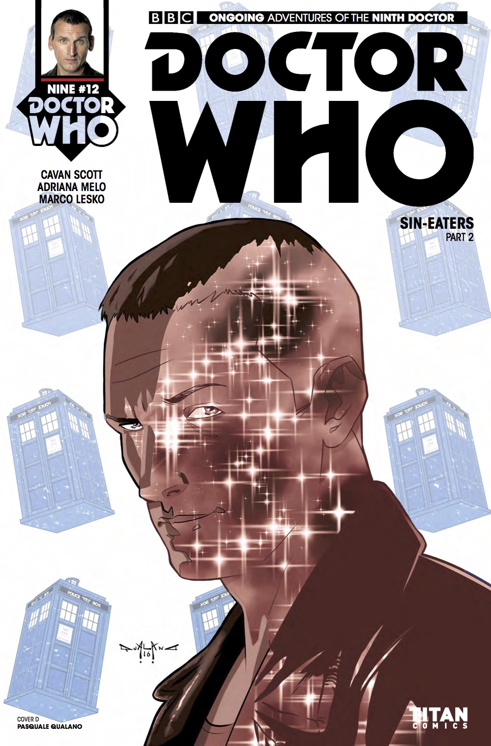 DOCTOR WHO: NINTH DOCTOR #12 Cover D (Credit: Titan PASQUALE QUALANO)