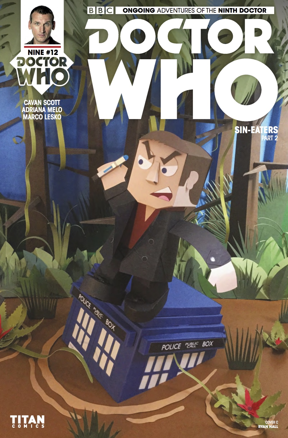 DOCTOR WHO: NINTH DOCTOR #12 Cover C (Credit: Titan RYAN HALL)