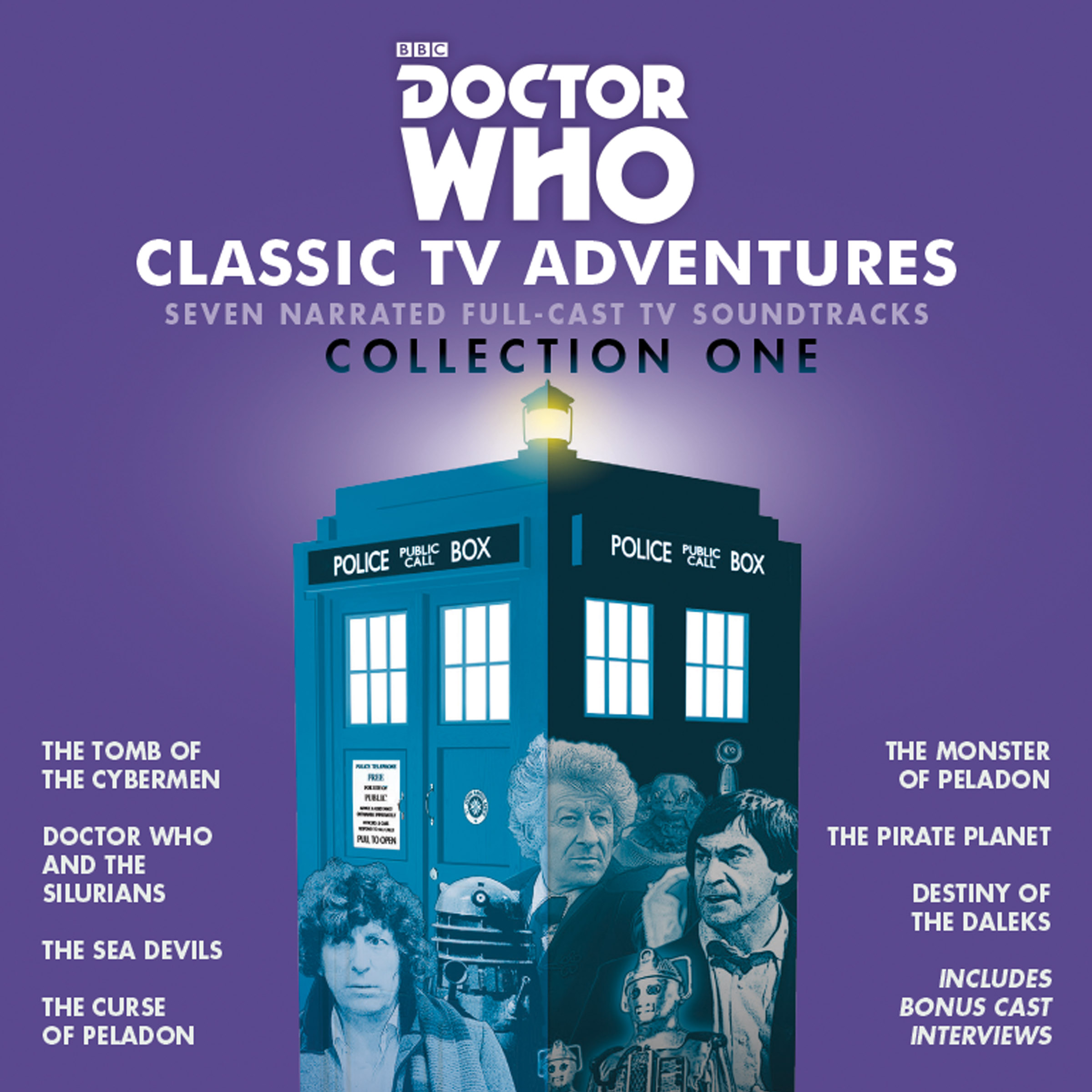 Doctor Who: Classic TV Adventures - Collection One (Credit: BBC Audio)