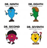 Doctor Who and the World of Roger Hargreaves: Set Two (Covers)