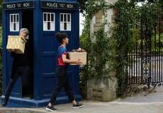 Knock Knock: The Doctor (Peter Capaldi), Bill (Pearl Mackie) (Credit: BBC/BBC Worldwide (Simon Ridgway))