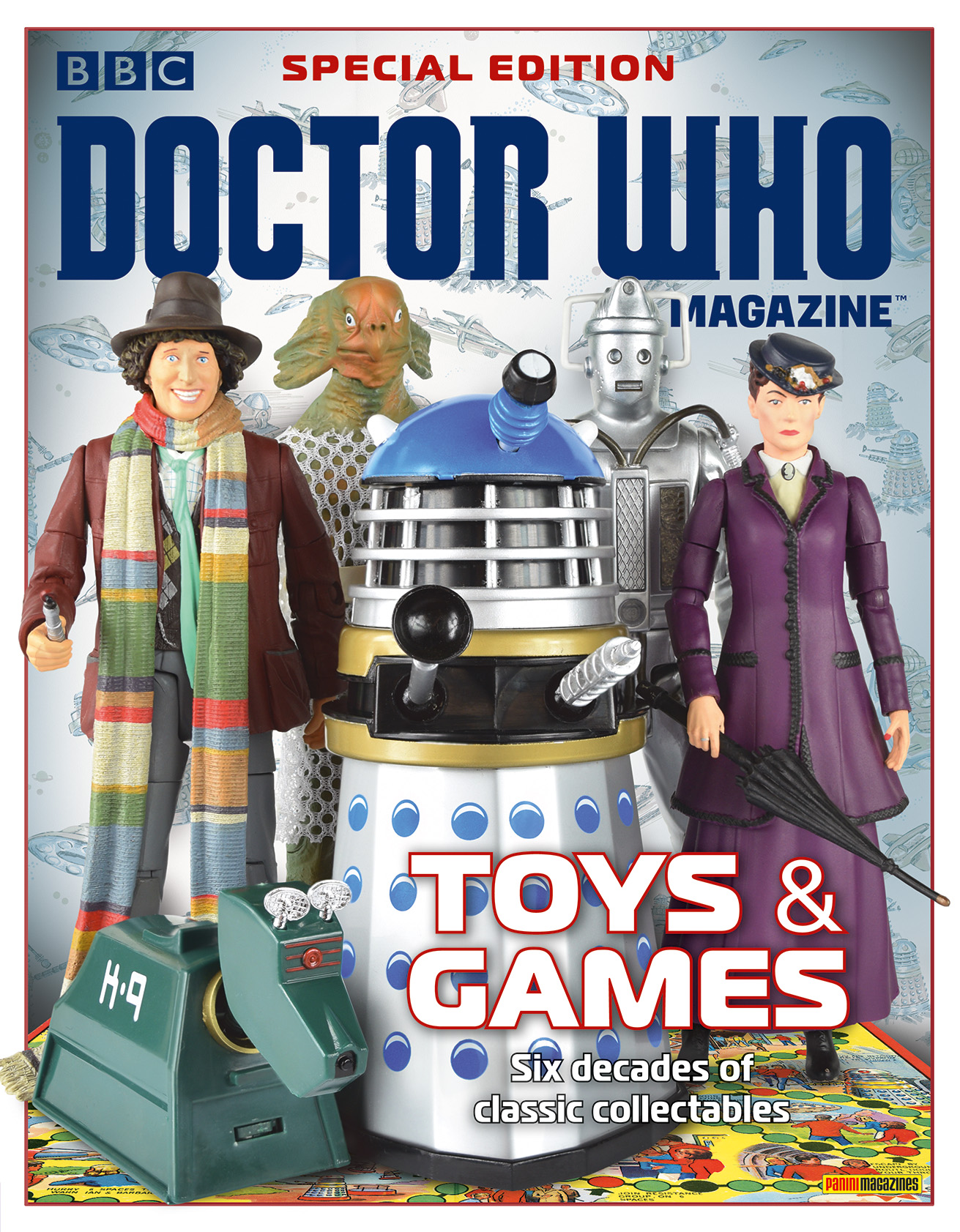 Doctor Who Magazine Special Edition 46: Toys & Games (Credit: Panini)