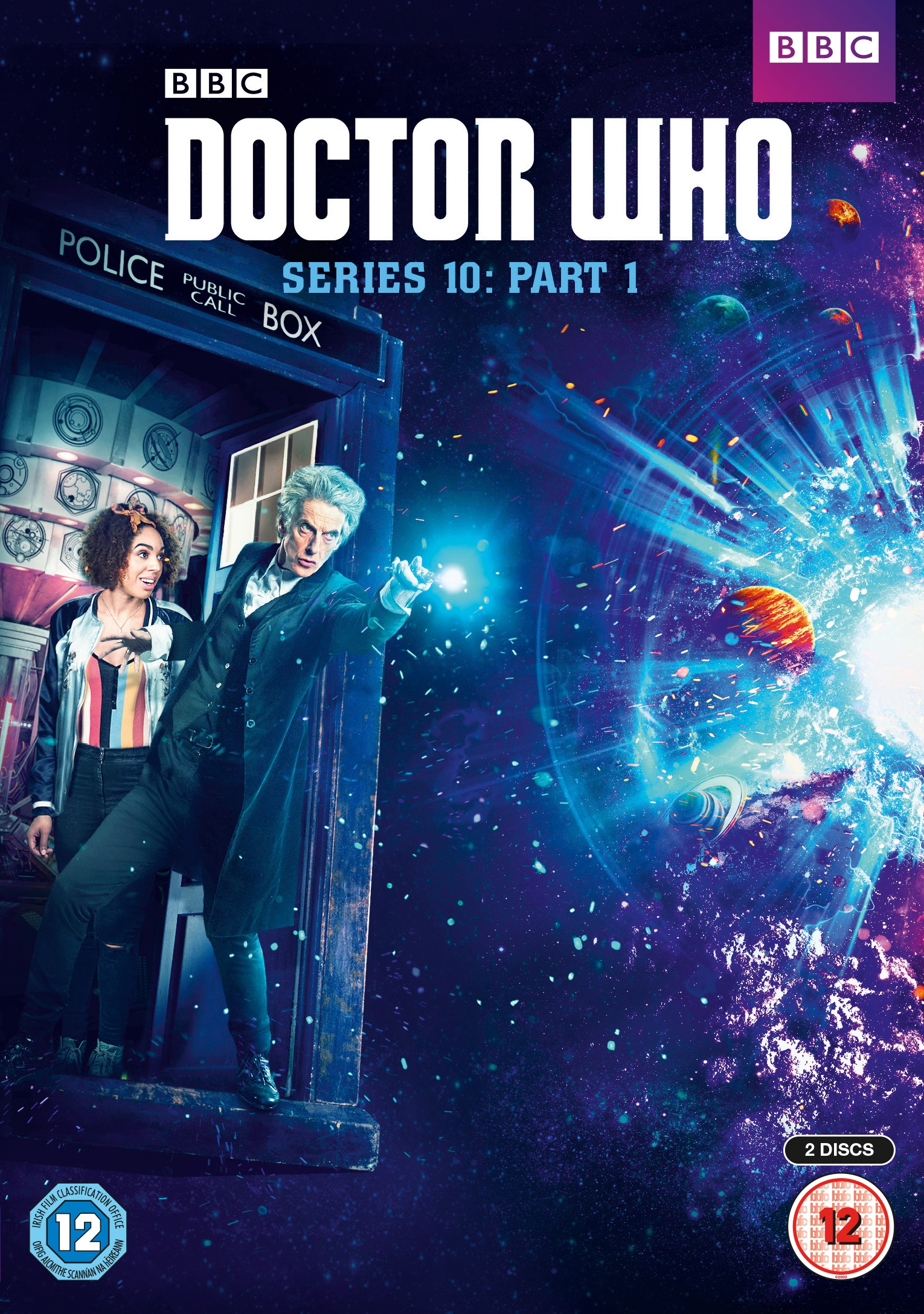 Doctor Who Series 10: Part 1 on DVD/Bluray (Credit: BBC Worldwide)