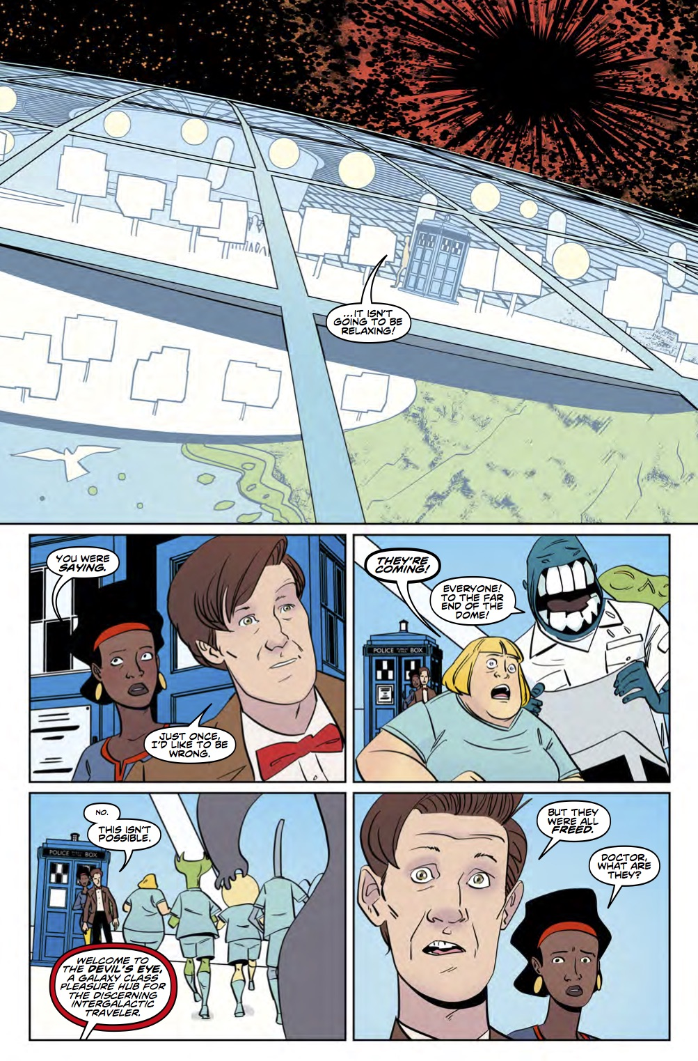 Eleventh Doctor 3_5 Preview 4 (Credit: Titan)