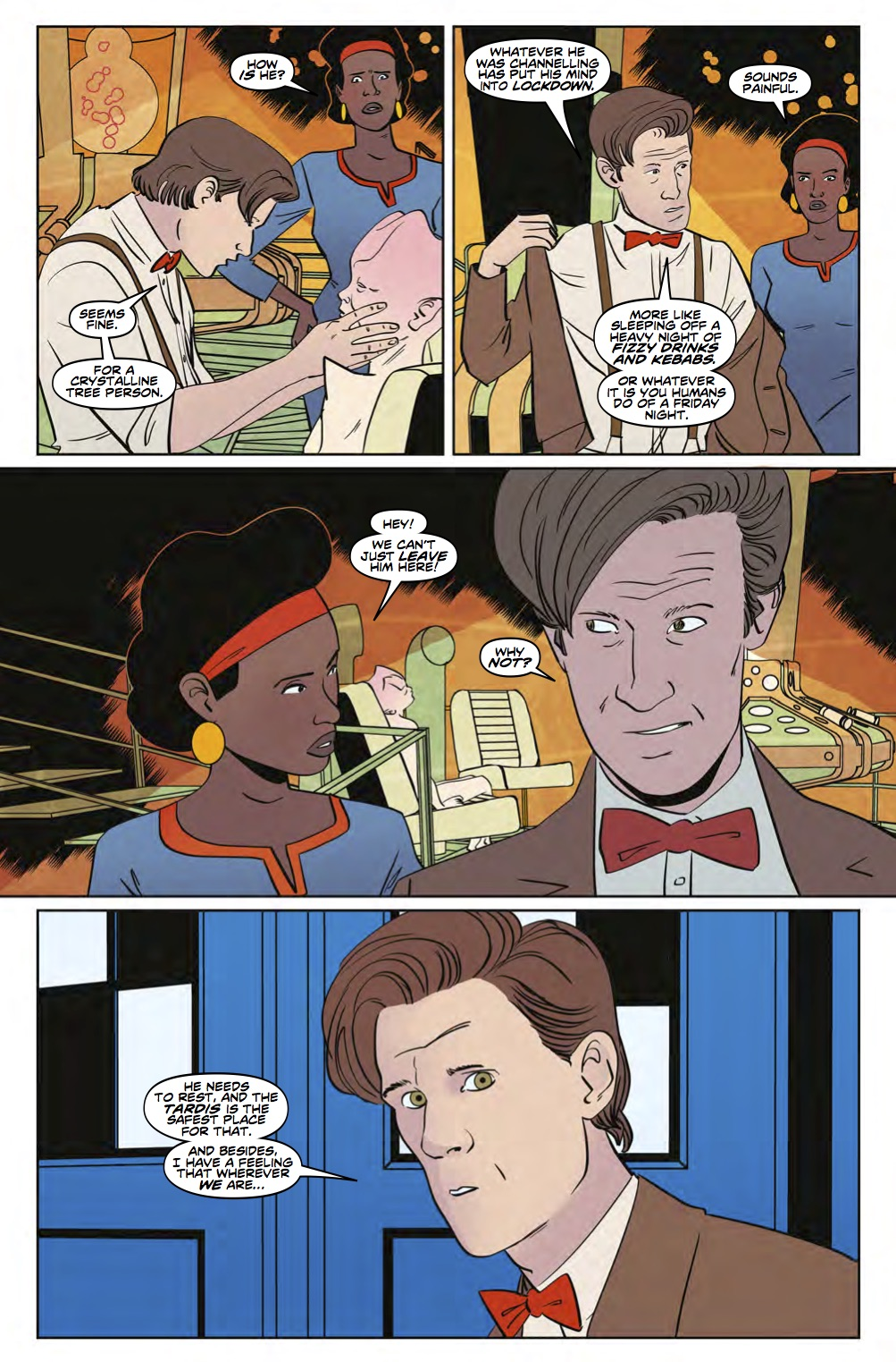 Eleventh Doctor 3_5 Preview 3 (Credit: Titan)