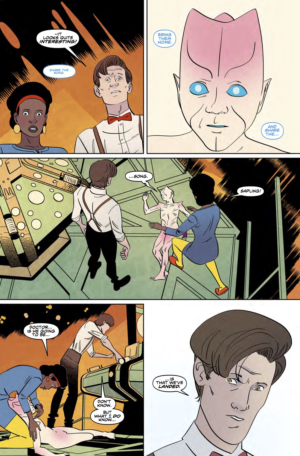 Eleventh Doctor 3_5 Preview 2 (Credit: Titan)