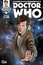 Eleventh Doctor 3_5 Cover D (Credit: Titan / Leandro Casco)