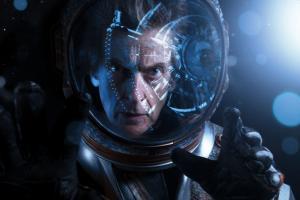 Oxygen: The Doctor (Peter Capaldi) (Credit: BBC/BBC Worldwide (Des Willie))