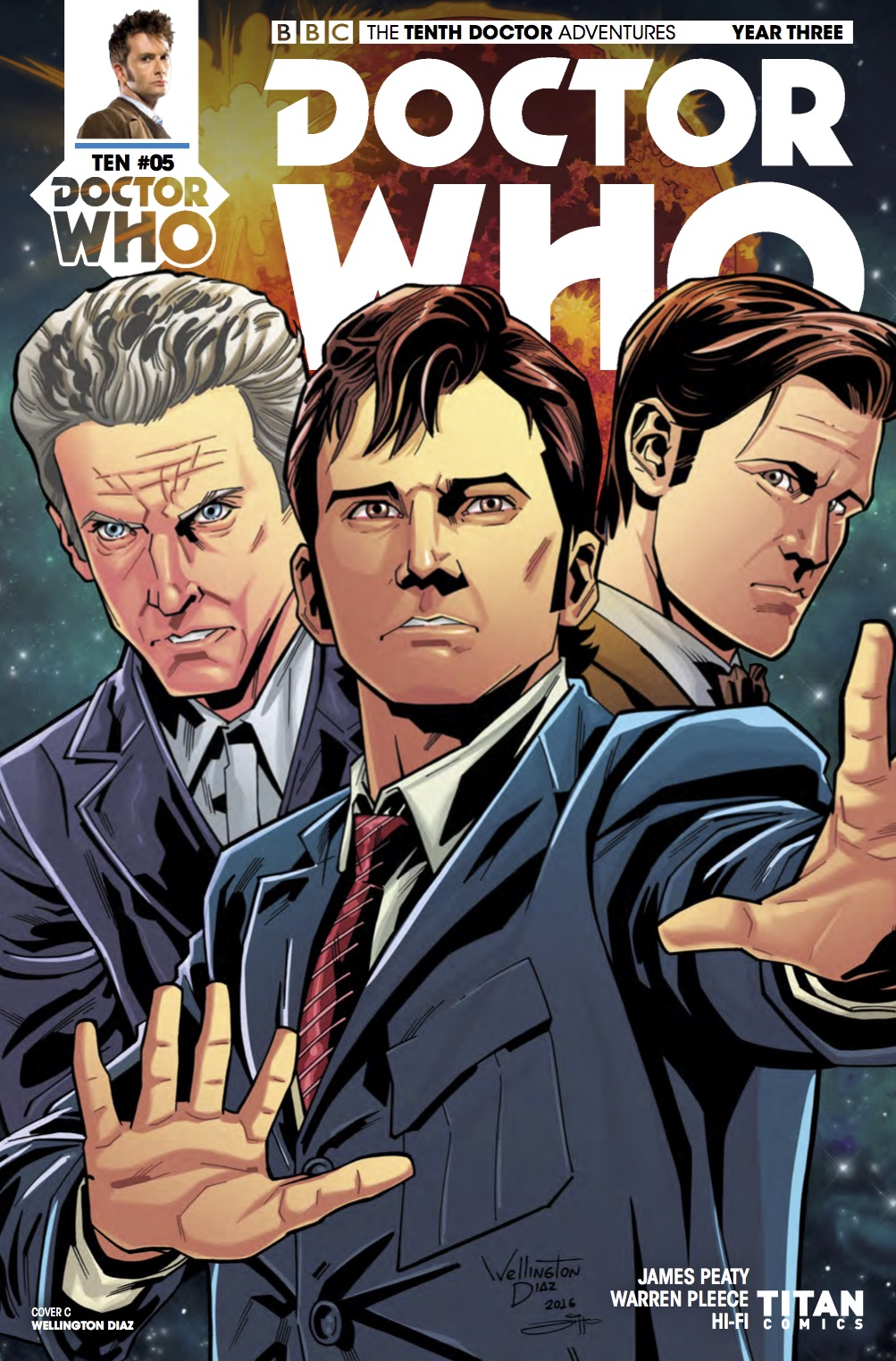 TENTH_DOCTOR 3.5 Cover C (Credit: Titan / Wellington Alves)