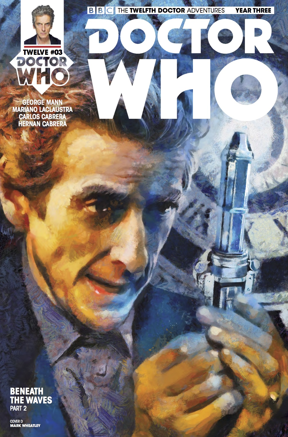 Twelfth Doctor Year Three #3 _Cover D (Credit: Titan)