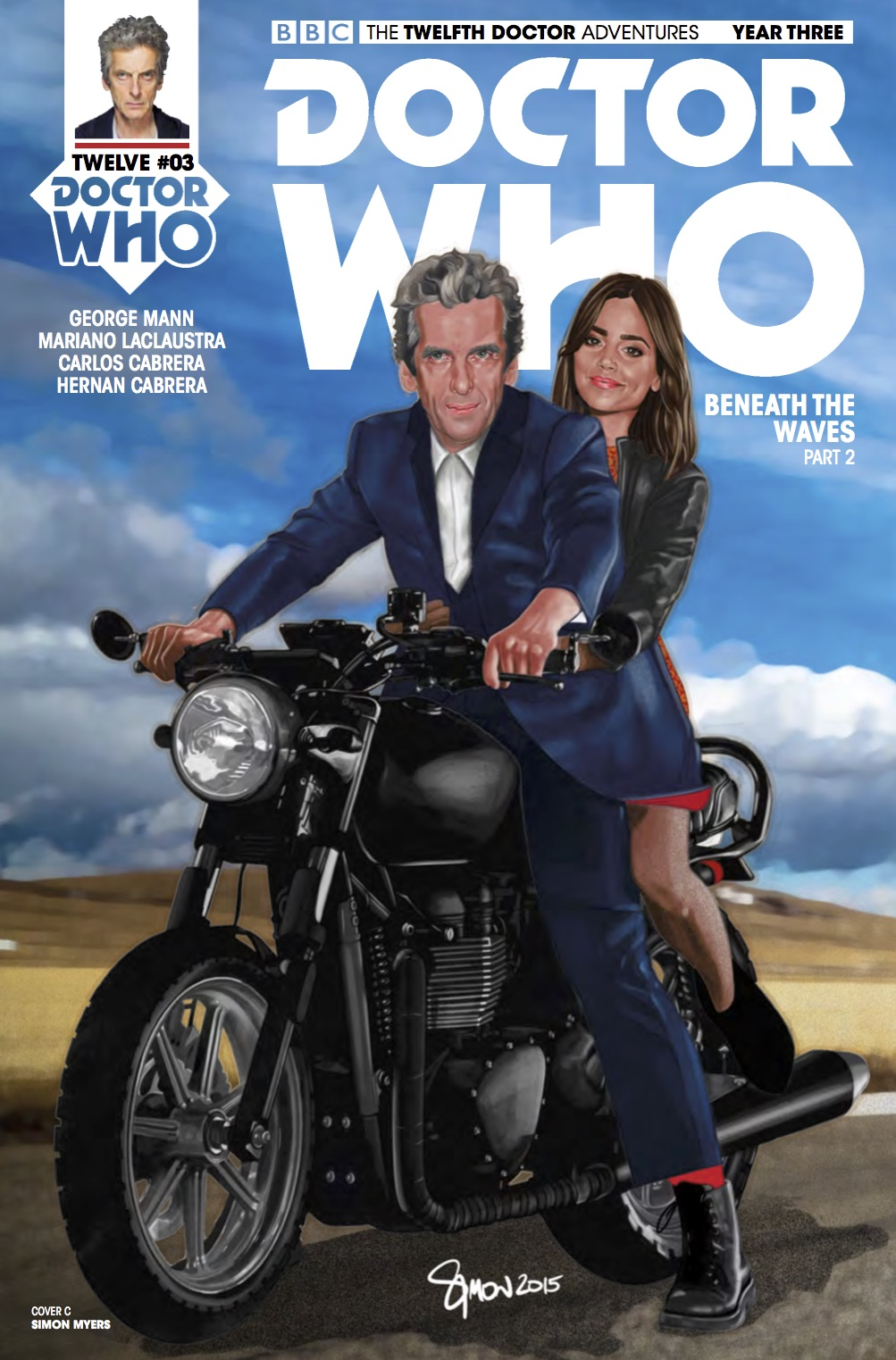 Twelfth Doctor Year Three #3 _Cover C (Credit: Titan)