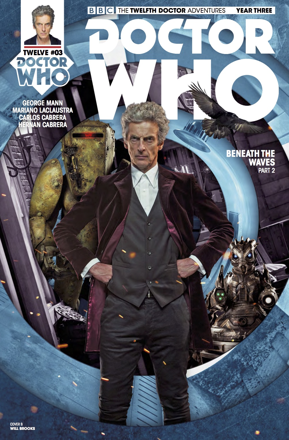 Twelfth Doctor Year Three #3 _Cover B (Credit: Titan)