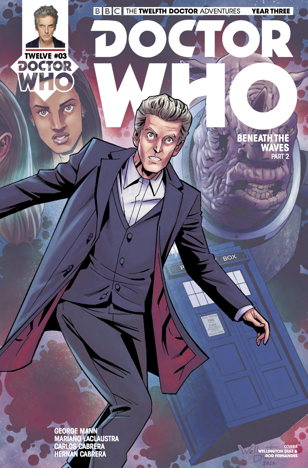 Twelfth Doctor Year Three #3 _Cover A (Credit: Titan)