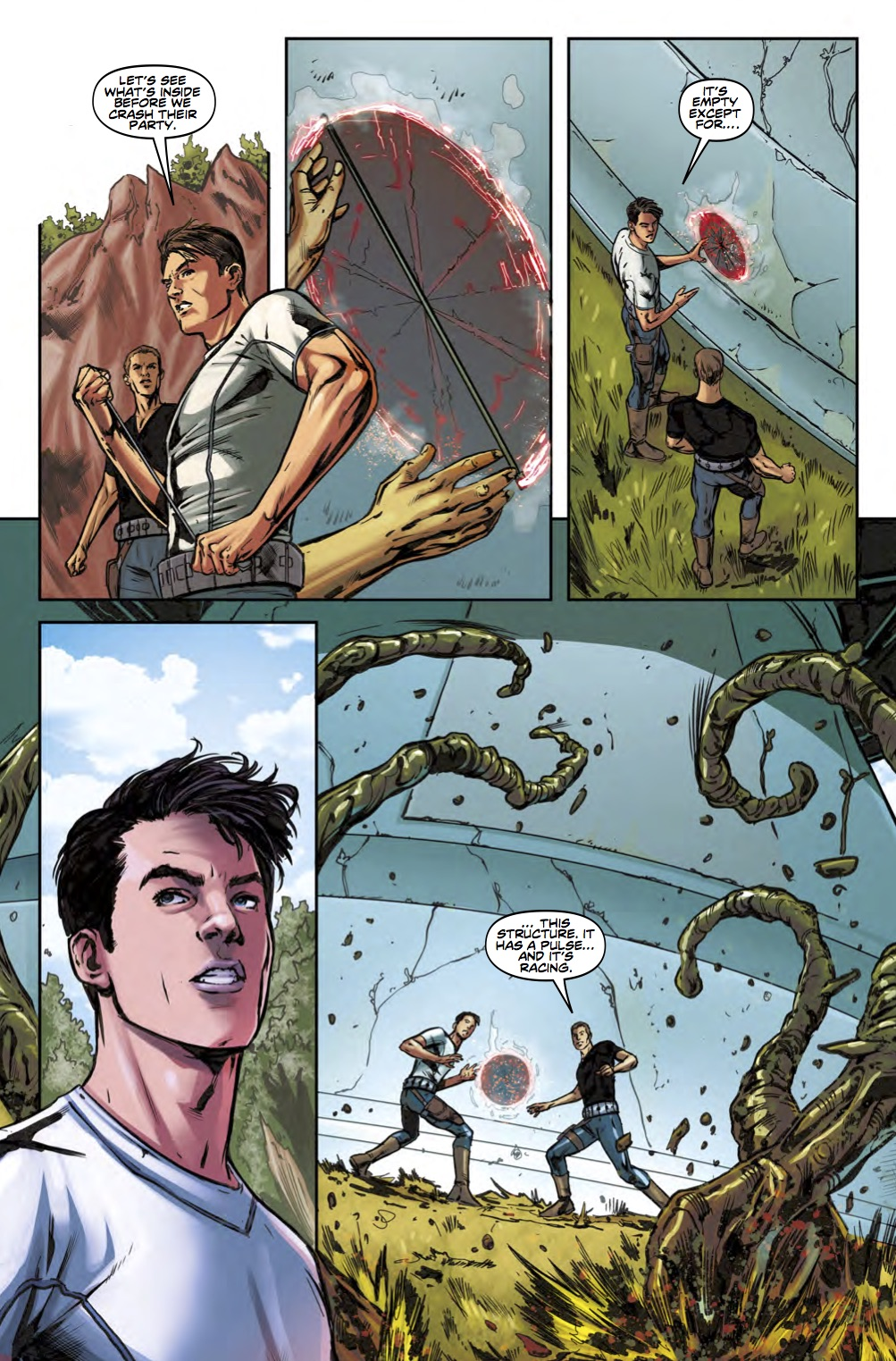 Torchwood Station Zero #4 Preview 4 (Credit: Titan)