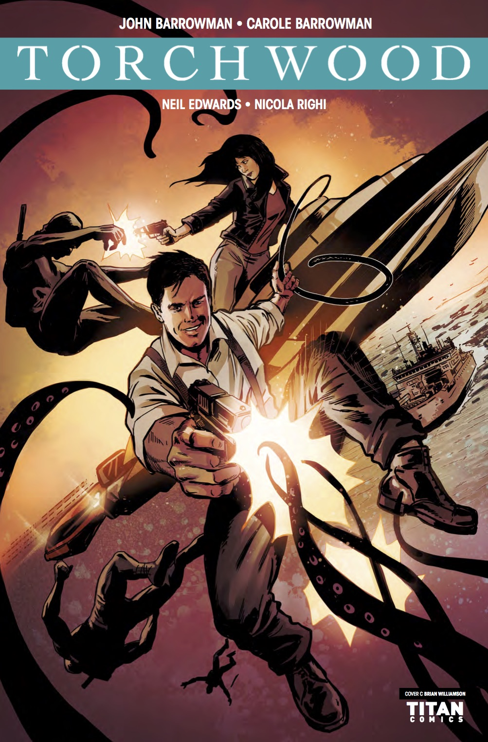 Torchwood Station Zero #4 Preview 1 (Credit: Titan / Brian Williamson)