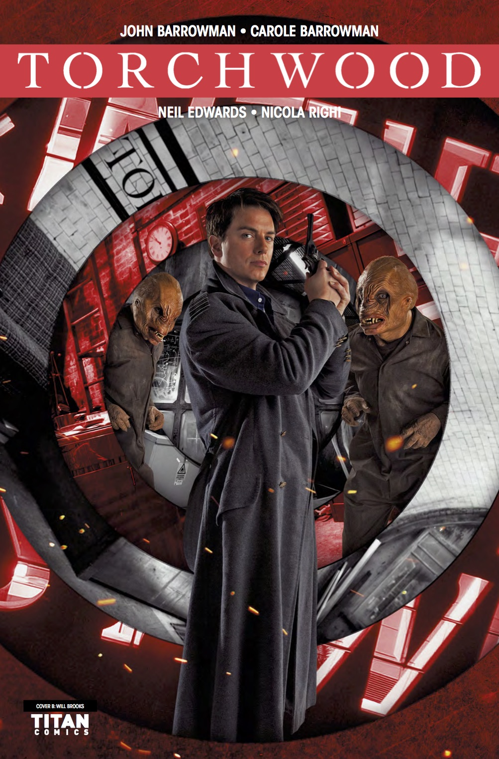 Torchwood Station Zero #4 Cover B (Credit: Titan / Will Brooks)