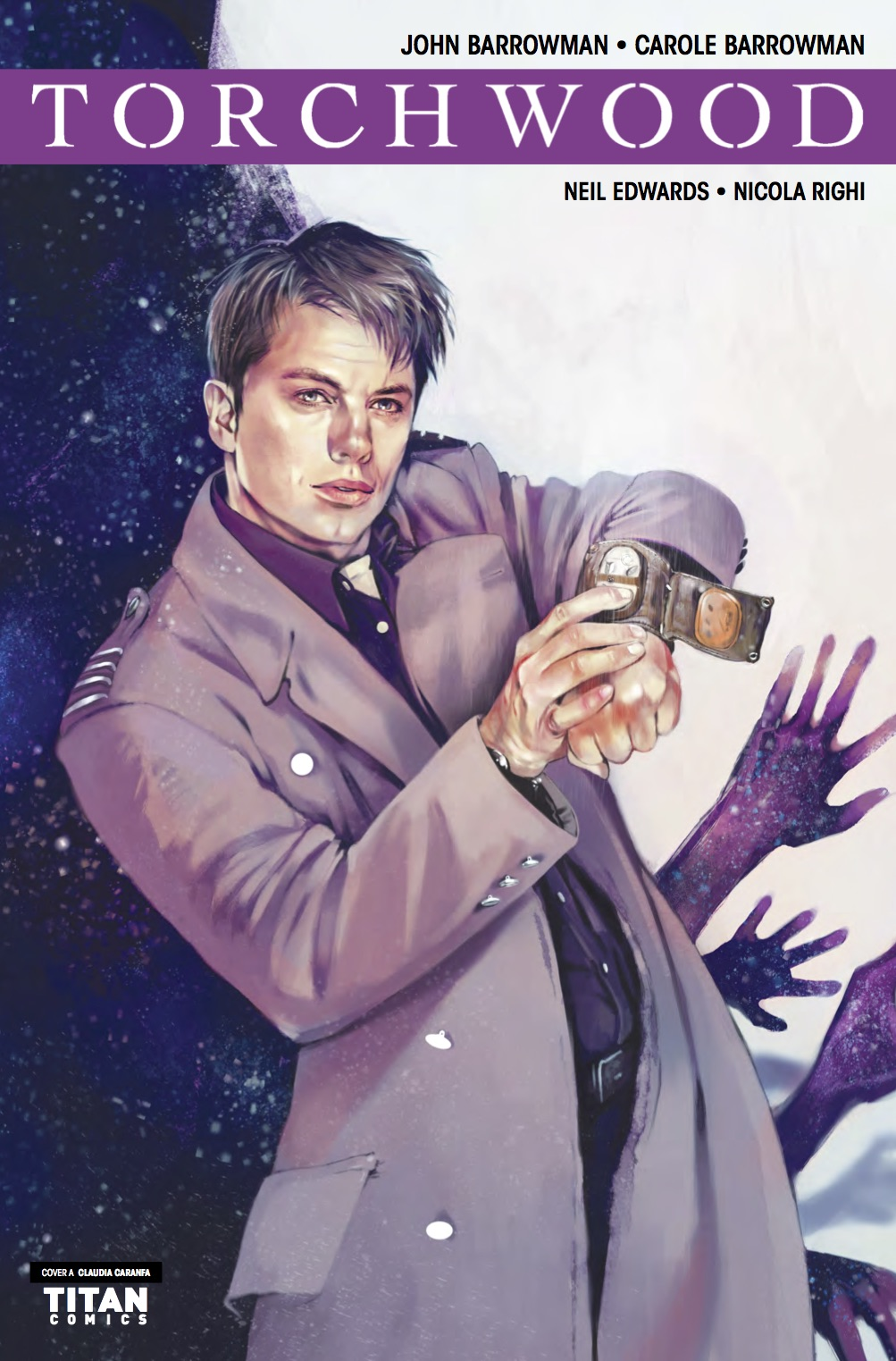 Torchwood Station Zero #4 Cover A (Credit: Titan / Claudia Caranfa)