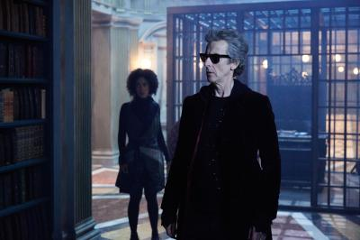 Extremis: Bill (Pearl Mackie), The Doctor (Peter Capaldi) (Credit: BBC/BBC Worldwide (Simon Ridgway))