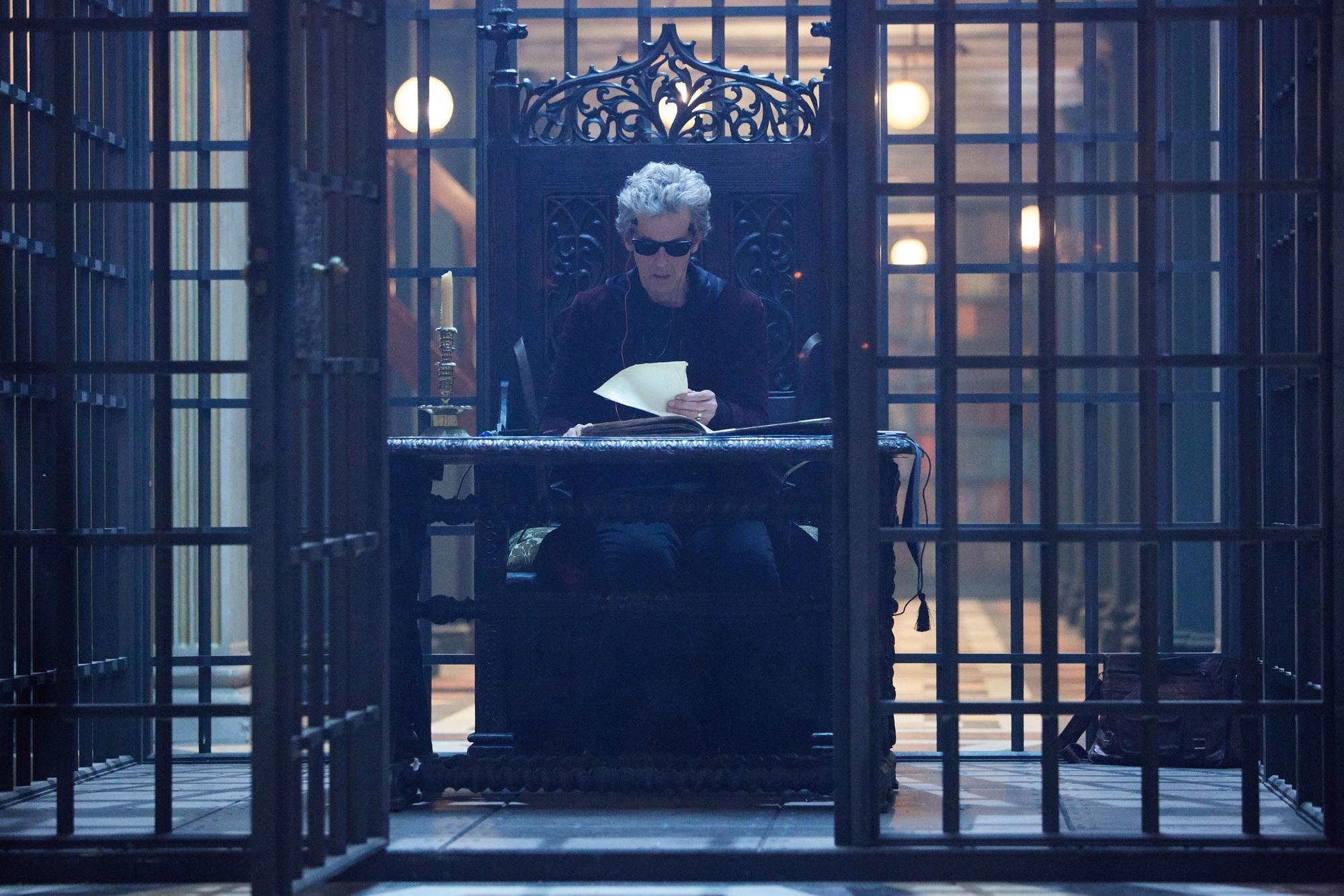 Extremis: The Doctor (Peter Capaldi) (Credit: BBC/BBC Worldwide (Simon Ridgway))